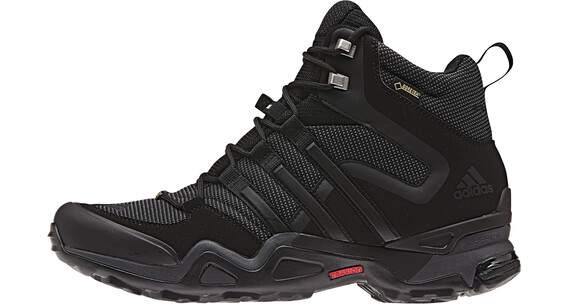 adidas Fast X High GTX Shoes Men core black/dark grey/power red